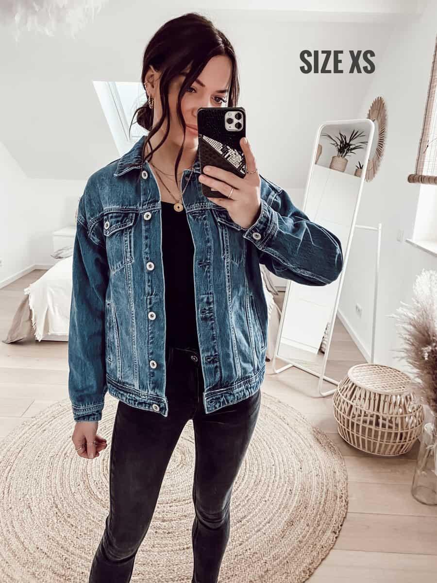 Vazzola Fashion Onlineshop - Jeans Jacke
