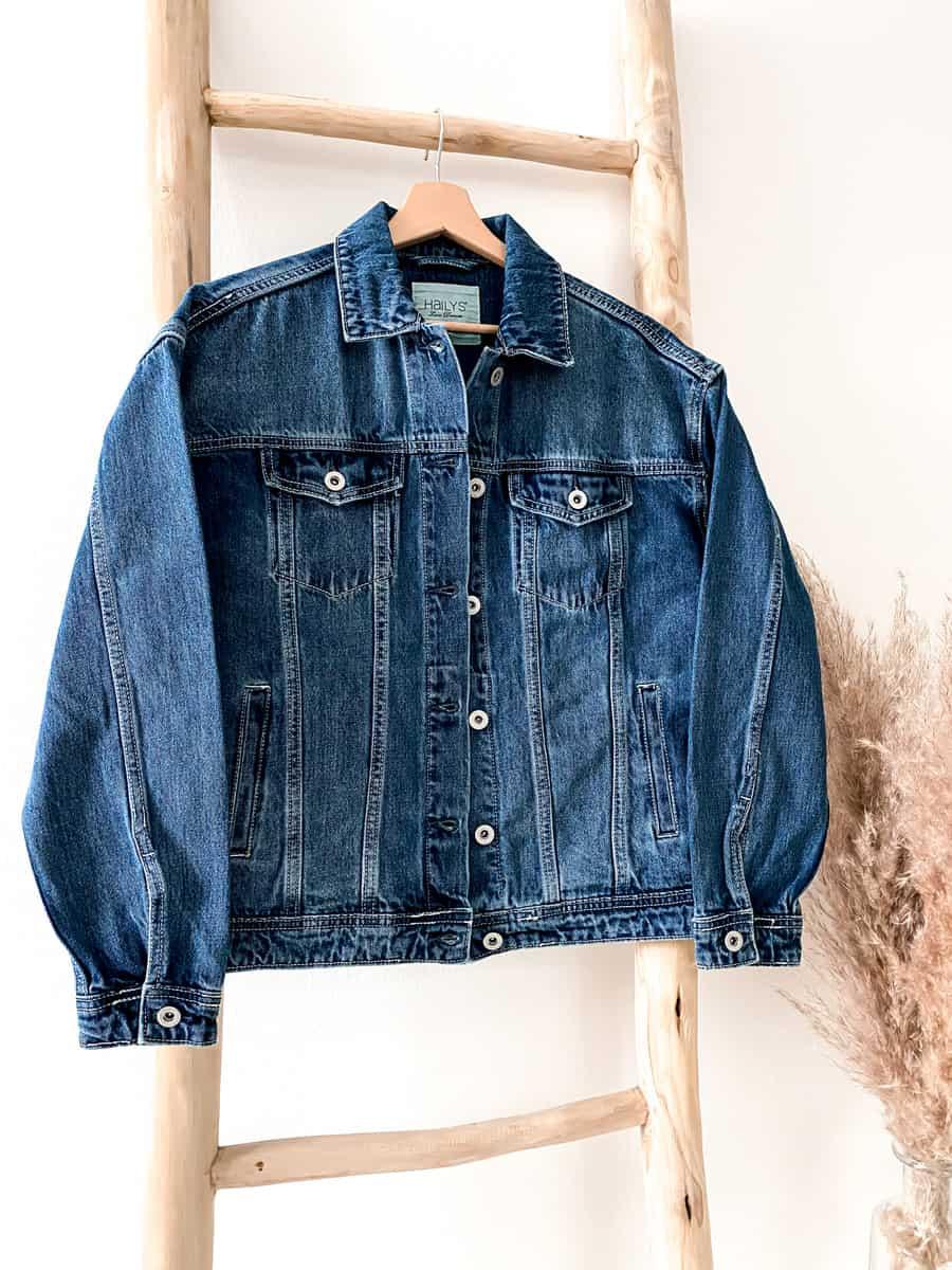 Jeansjacke Oversize - Vazzola Fashion Onlineshop