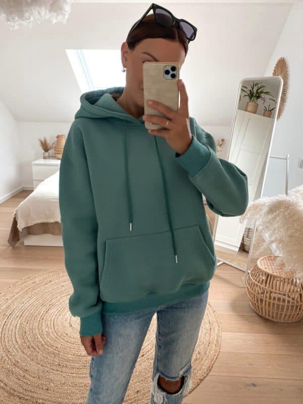 Vazzola Fashion Onlineshop - Oversize Hoodie für Damen